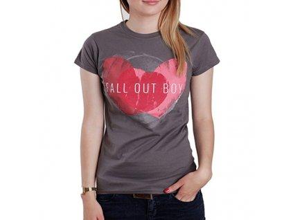 Dámske tričko Fall Out Boy (Veľkosť XL)