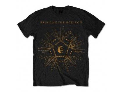 Pánske tričko Bring Me The Horizon Black Star (Veľkosť XXL)