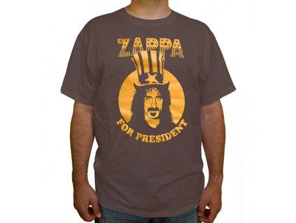 Pánske tričko Frank Zappa President (Veľkosť XL)