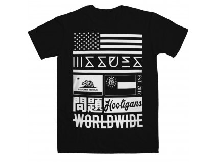 Pánske tričko Issues WORLDWIDE (Veľkosť XXL)