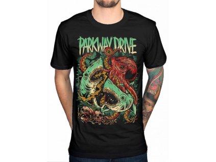 Pánske tričko Parkway Drive (Veľkosť XL)