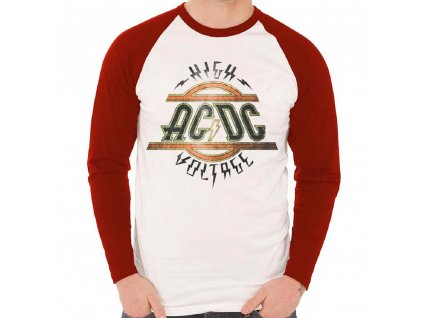 Pánske tričko s dlhým rúkavom AC/DC (Veľkosť XXL)