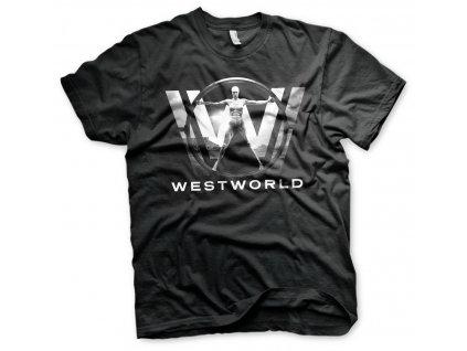 Pánske tričko WESTWORLD POSTER
