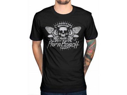 Pánske tričko Papa Roach Cobra Skull (Veľkosť XXL)