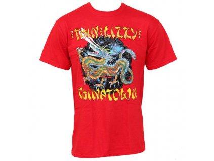 Pánske tričko Thin Lizzy Chinatown (Veľkosť S)