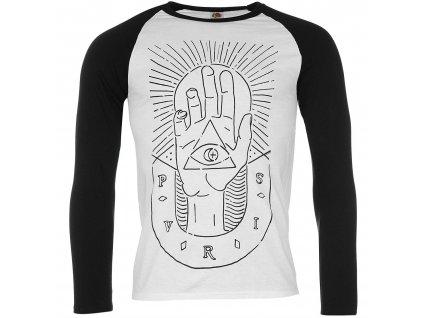 Pánske tričko s dlhým rúkavom PVRIS (Veľkosť XXL)