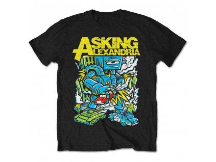 Pánske tričko Asking Alexadria KILLER ROBOT (Veľkosť XXL)