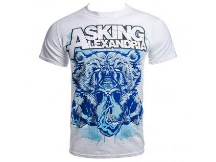 Pánske tričko Asking Alexandria BEAR SKULL (Veľkosť XL)