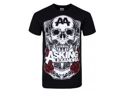 Pánske tričko Asking Alexandria BLACK SHADOW (Veľkosť XL)
