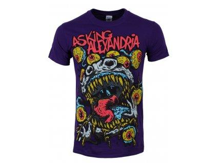 Pánske tričko Asking Alexandria EYEBALLS (Veľkosť XL)