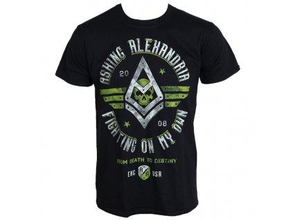Pánske tričko Asking Alexandria FIGHT (Veľkosť XL)