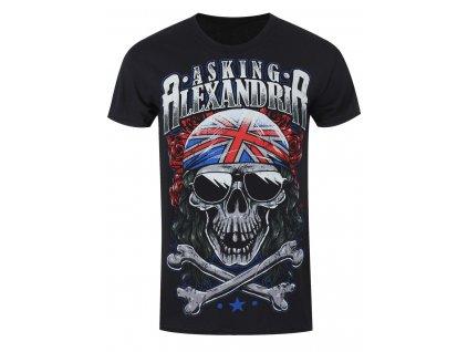 Pánske tričko Asking Alexandria GRAYSKULL (Veľkosť XL)