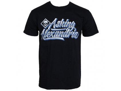 Pánske tričko Asking Alexandria SCRIPT (Veľkosť XL)