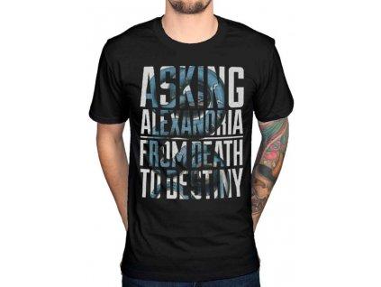 Pánske tričko Asking Alexandria SNAKES (Veľkosť XL)