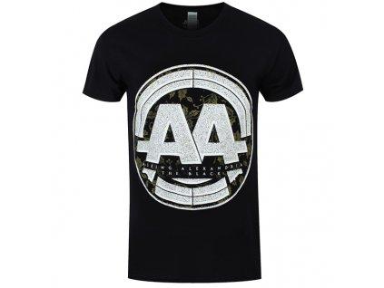 Pánske tričko Asking Alexandria STAMP (Veľkosť XL)