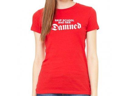 Dámske tričko The Damned (Veľkosť XL)
