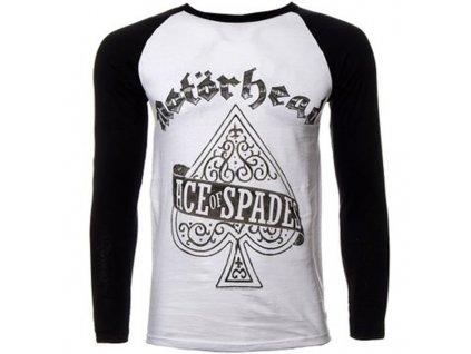 Pánske tričko s dlhým rukávom Motörhead ACE OF SPADES (Veľkosť XXL)