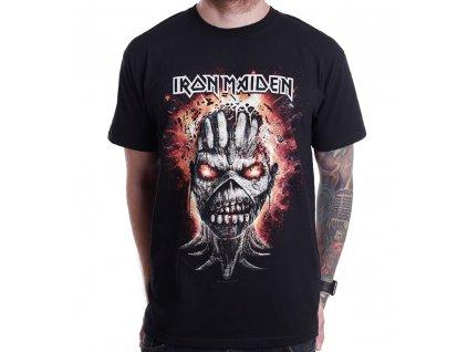 Pánske tričko Iron Maiden EDDIE EXPLODING HEAD (Veľkosť XXL)