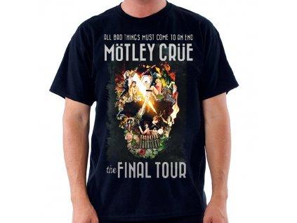 Pánske tričko Mötley Crüe ADMAT FINAL TOUR (Veľkosť XXL)