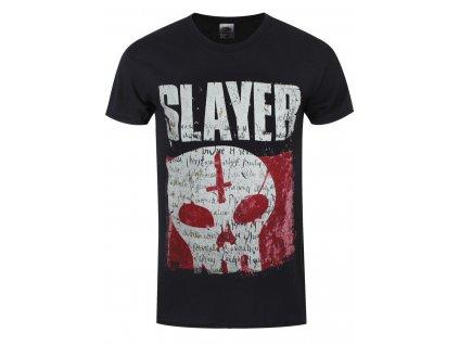 Pánske tričko Slayer UNDISPUTED ATTITUDE SKULL (Veľkosť XXL)