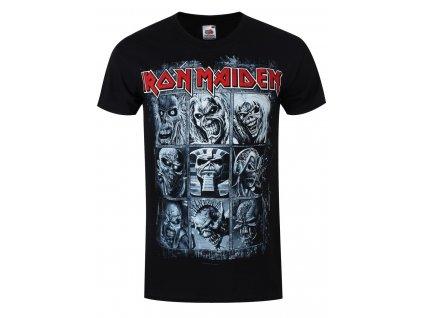 Pánske tričko Iron Maiden NINE EDDIES
