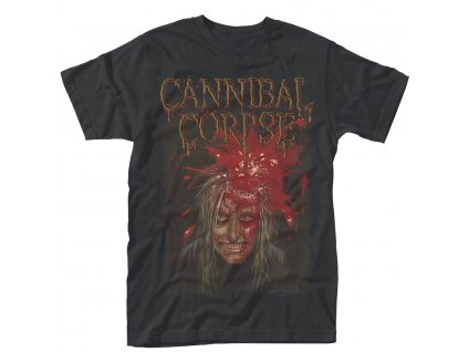 Pánske tričko CANNIBAL CORPSE IMPACT SPATTER (Veľkosť XXL)