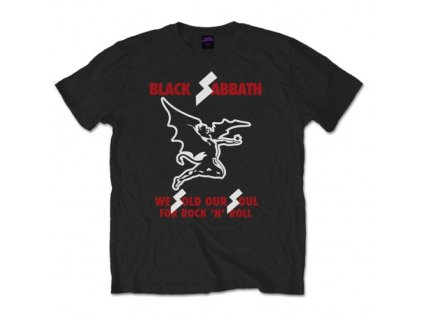 Pánske tričko Black Sabbath Sold our Soul (Veľkosť XXL)