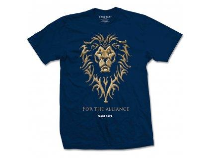 Pánske tričko WARCRAFT THE ALLIANCE (Veľkosť XXL)