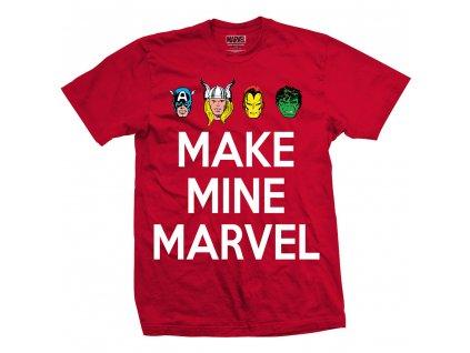 Pánske tričko MARVEL COMICS (Veľkosť XXL)