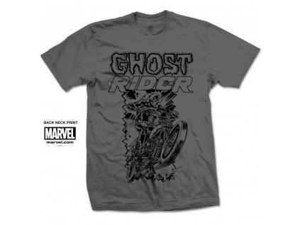 Pánske tričko Marvel GHOST RIDER SIMPLE (Veľkosť XXL)