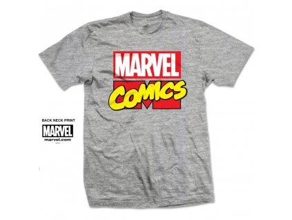 Pánske tričko MARVEL LOGO (Veľkosť XXL)