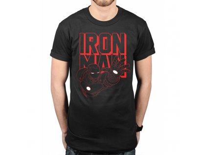 Pánske tričko IRON MAN REACH (Veľkosť XXL)