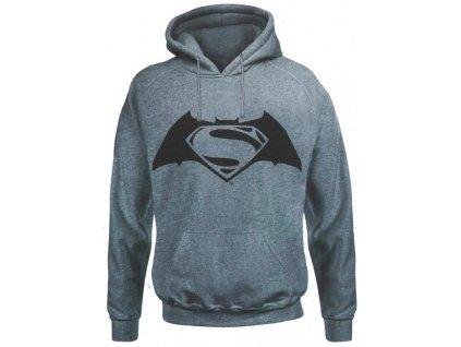 Pánska mikina BATMAN V SUPERMAN (Veľkosť XXL)