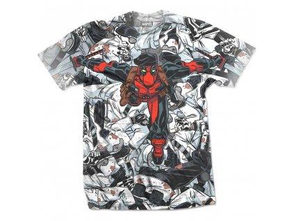 Pánske tričko DEADPOOL LEAP (Veľkosť XXL)