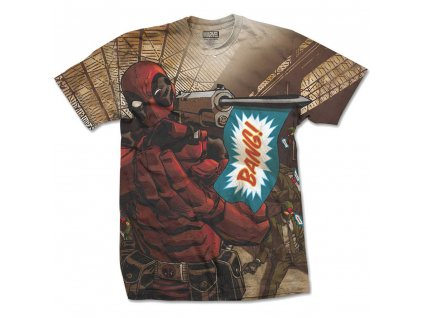 Pánske tričko DEADPOOL BANG (Veľkosť XXL)
