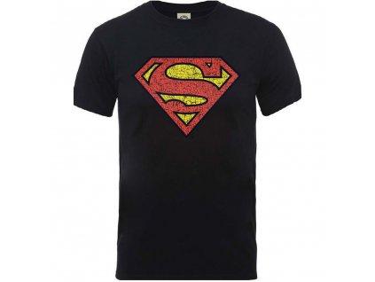 Pánske tričko ORIGINALS SUPERMAN SHIELD CRACKLE LOGO (Veľkosť XXL)