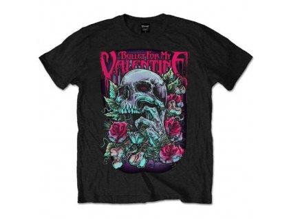 Pánske tričko Bullet For My Valentine Skull Red Eyes (Veľkosť XXL)