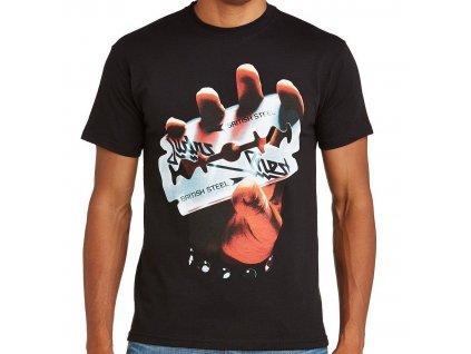 Pánske tričko Judas Priest BRITISH STEEL (Veľkosť XXL)