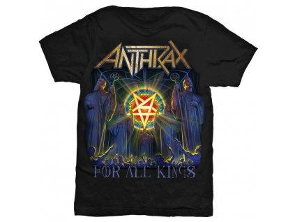 Pánske tričko Anthrax For All Kings Cover (Veľkosť XXL)