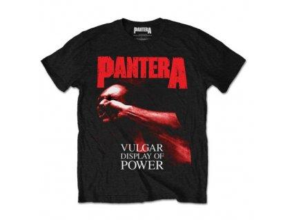 Pánske tričko Pantera Red Vulgar (Veľkosť XXL)