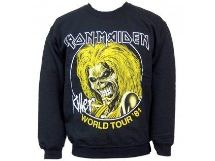 Pánska mikina Iron Maiden Killers '81 (Veľkosť XXL)