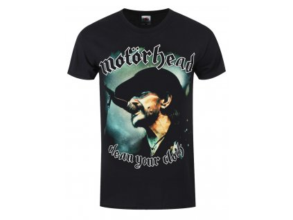 Pánske tričko Motörhead Clean Your Clock Colour (Veľkosť XXL)