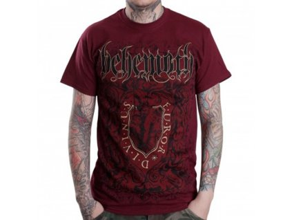 Pánske tričko Behemoth Furor Divinus (Veľkosť XXL)