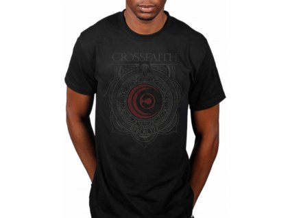crossfaith Ornament tshirt blk zpsixwfhe9r