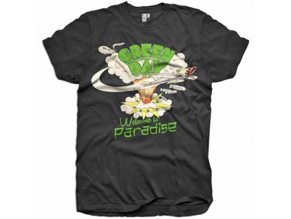 Pánske tričko Green Day Welcome to Paradise (Veľkosť XXL)