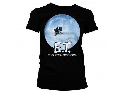 Dámske tričko E.T. Bike In The Moon