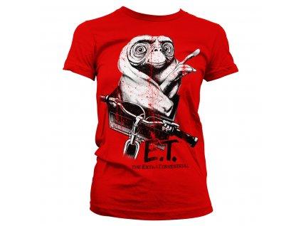 Dámske tričko E.T. Biking Distressed
