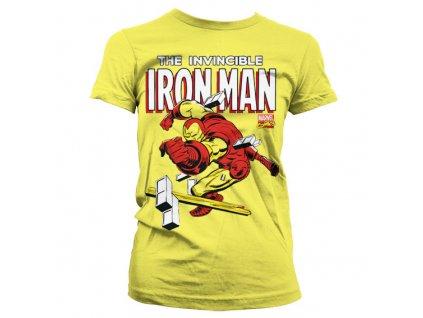 Dámske tričko The Invincible Iron Man