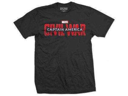 Pánske tričko CAPTAIN AMERICA CIVIL WAR MOVIE (Veľkosť XXL)
