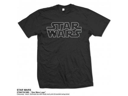 Pánske tričko STAR WARS LOGO (Veľkosť XXL)